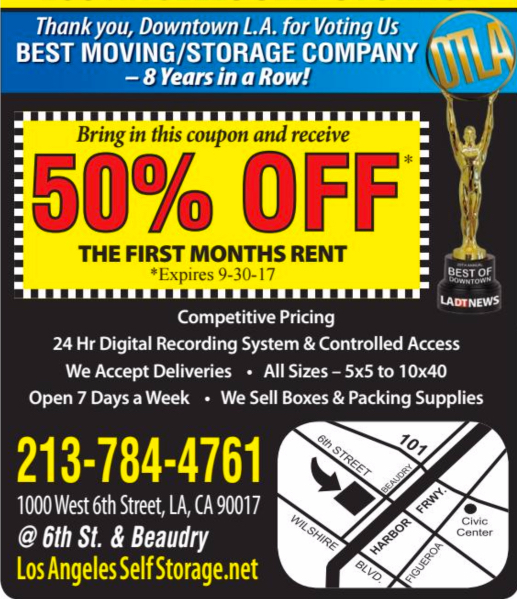 Best of Downtown Los Angeles Advertisement