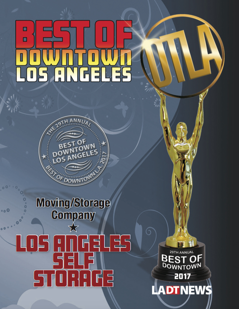 Best of Downtown Los Angeles Award