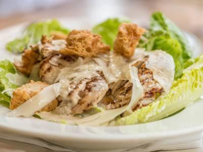 Grilled Chicken Caesar Salad at The Gardens at Park Balboa