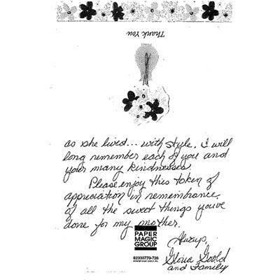 Hand written testimonial for The Gardens at Park Balboa