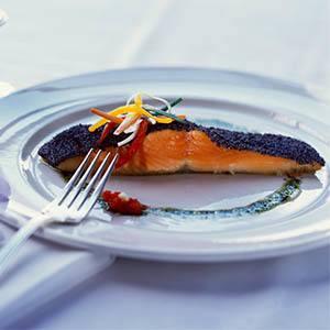 Salmon dish at The Terraces at Park Marino