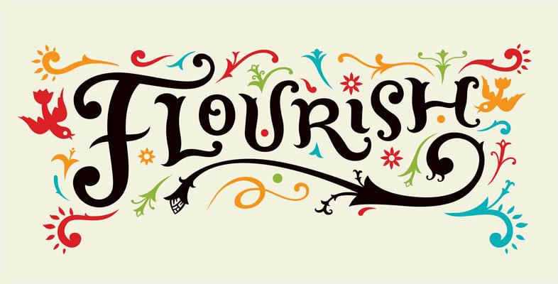 Flourish Graphic for The Terraces at Park Marino