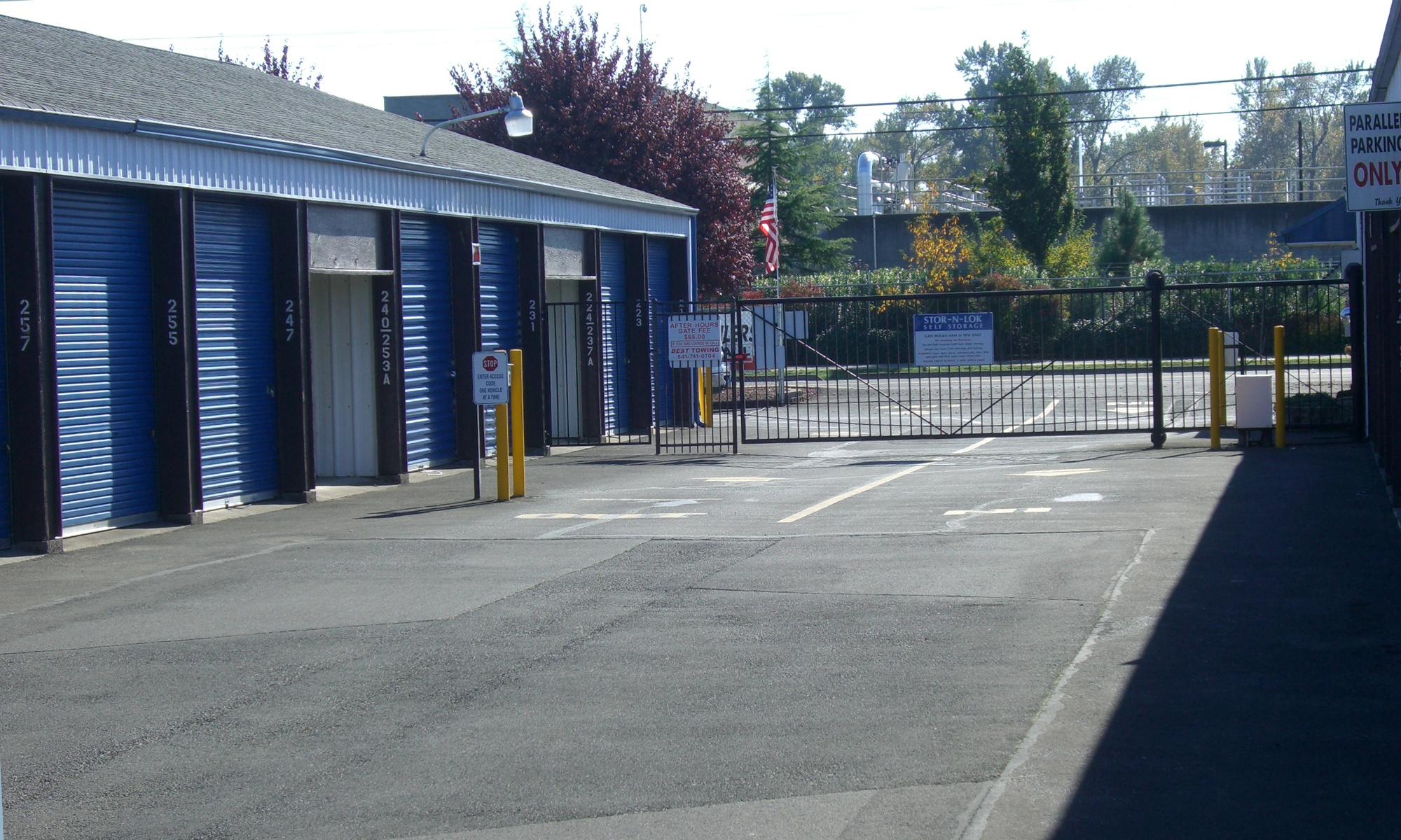 Self storage in Eugene OR
