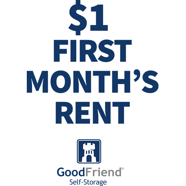 Features offered at GoodFriend Self Storage