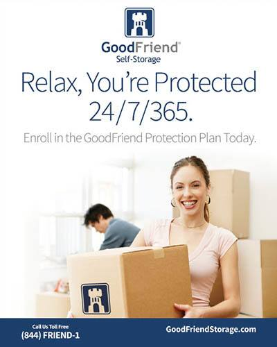 security features at GoodFriend Self Storage