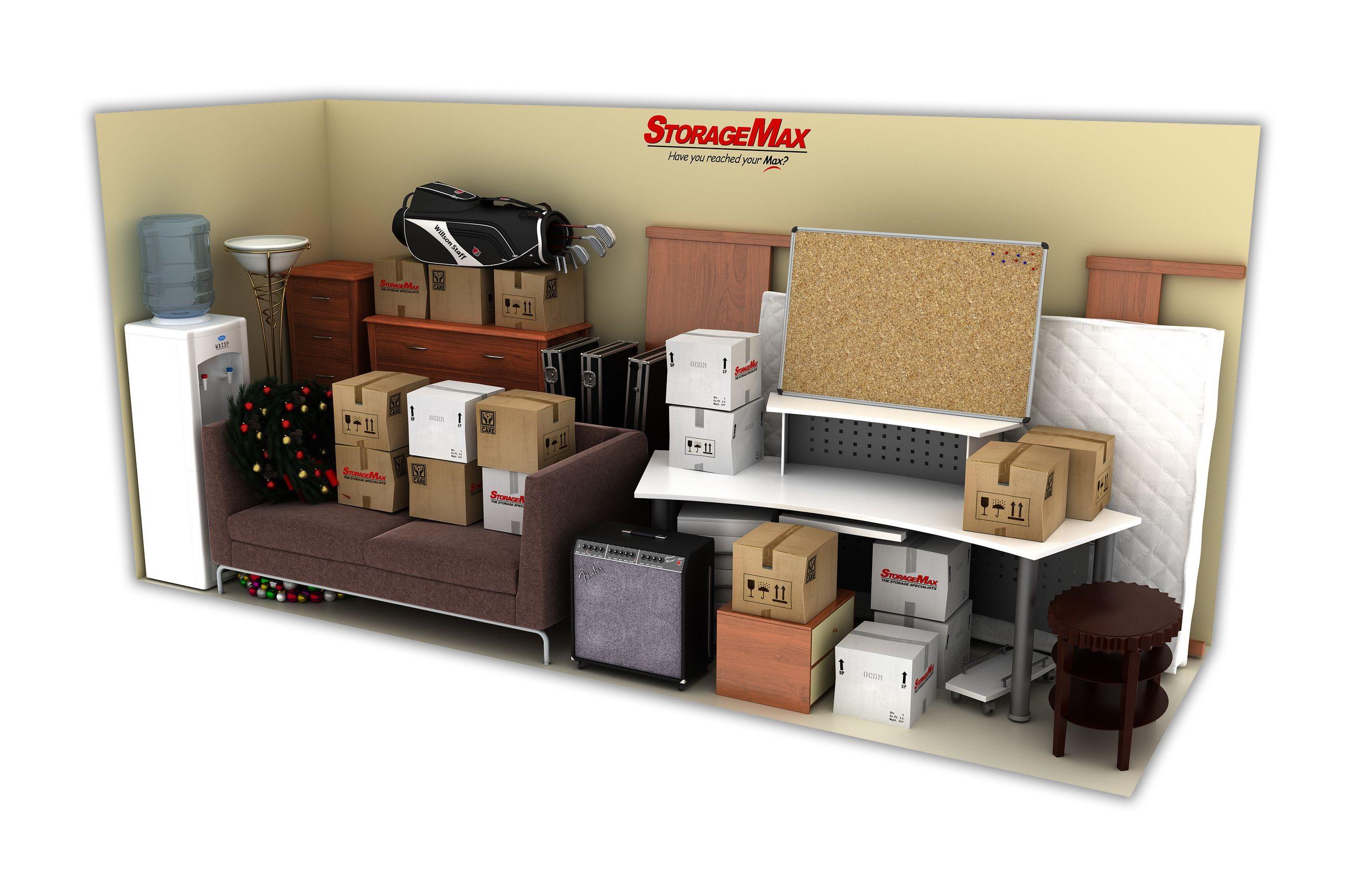 5x15 Storage Units  sc 1 st  StorageMax & Self Storage Tupelo MS | Storage Unit Sizes u0026 Prices