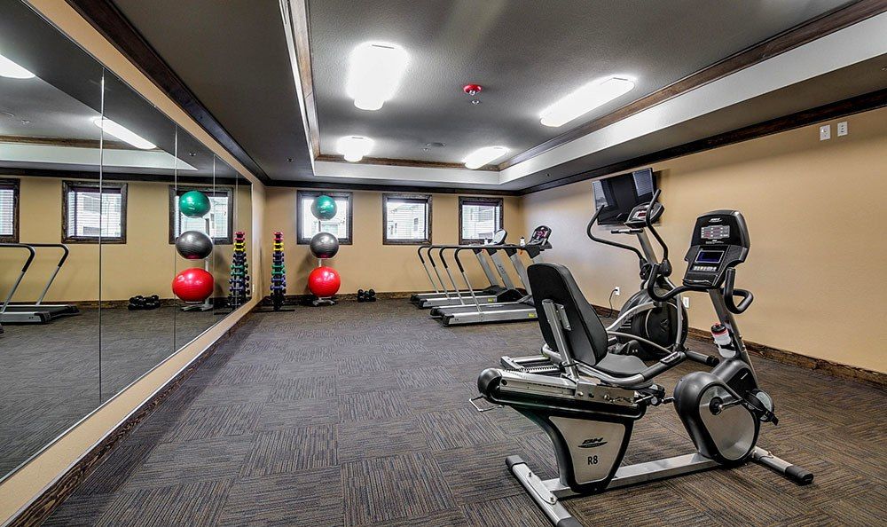 Fitness Center at The Aspens at Central Park in Grand Prairie, TX