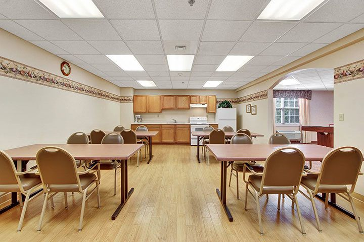 Activity Kitchen At Our Senior Living Home In Douglassville