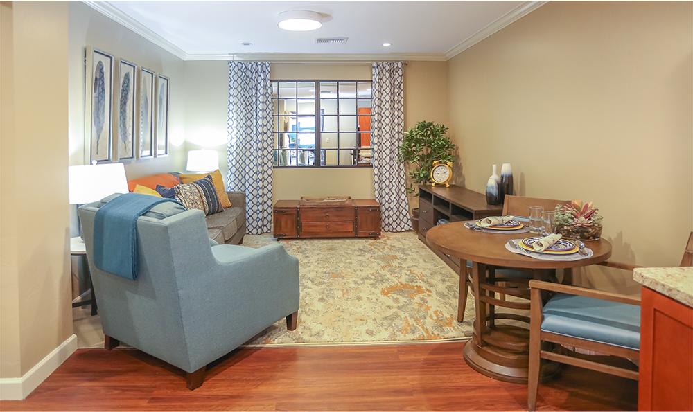 Enjoy the comforts of home at Sage Desert