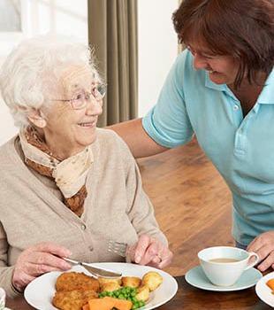 Breakfast at the senior living community in York