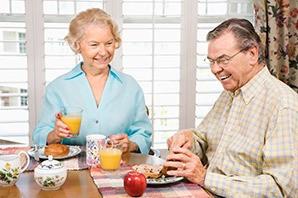 Wonderful meals at the senior living in Saint George