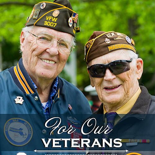 For our Vets at Hillcrest Memory Care