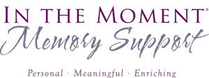 In the Moment Memory Care logo at Symphony at Cherry Hill