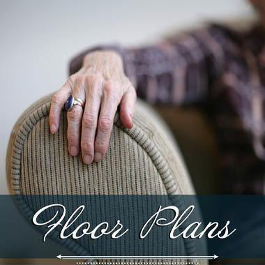 Memory care floor plans at Highland Estates