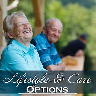 Lifestyle & care options at Chandler's Square Retirement Community