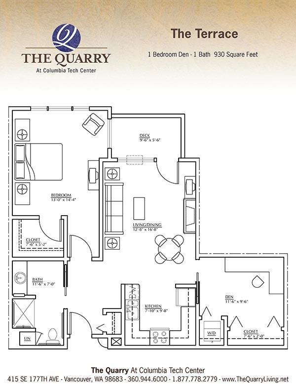 Senior housing floor plans for Senior home design