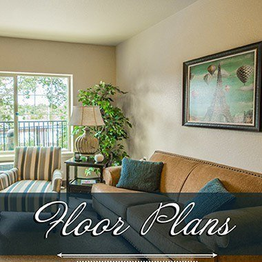 Assisted living floor plans at Almond Heights Senior Living