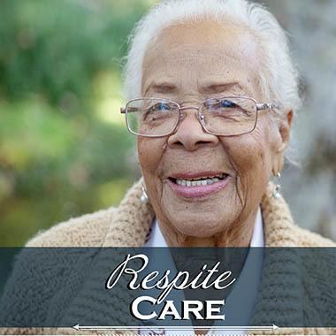 Happy Resipite Care Resident at Arbor Rose Senior Care.