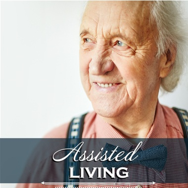 Assisted living resident at Mansion at Waterford Assisted Living