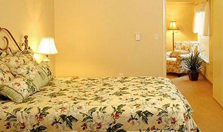 Bedroom at senior living in Seattle