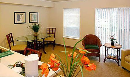 Living area at Maple Leaf Assisted Living & Memory Care