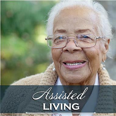 Assisted living resident at Pheasant Ridge Senior Living