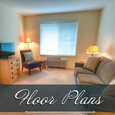 Assisted living floor plans at Keystone Villa at Ephrata