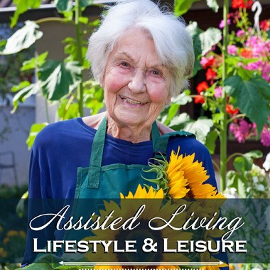 Assisted living enrichment opportunities at Flagstone Senior Living