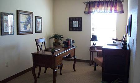 Writing Desk  in Flagstone Senior Living Senior-Living in Flagstone Senior Living