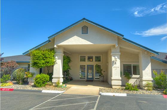 Lobby at Oak Terrace Memory Care in Soulsbyville.