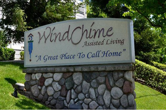 Chico senior living sign