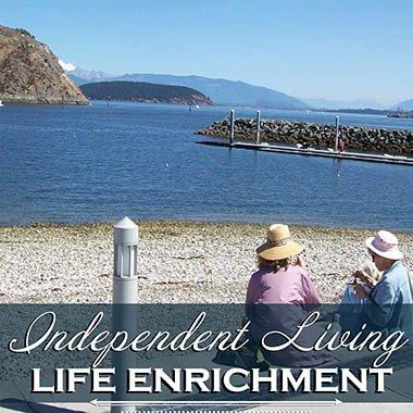 Independent Living Enrichment at Cap Sante Court Retirement Community