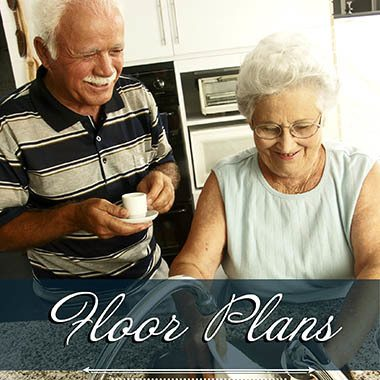 Assisted living floor plans at Highland Estates
