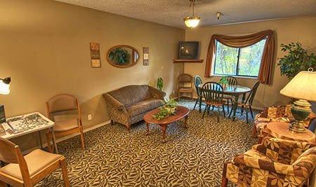 Indianhead Estates Residential Care Senior-Living Living Room