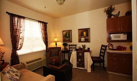 Living Room at The Meadows - Assisted Living in The Meadows - Assisted Living