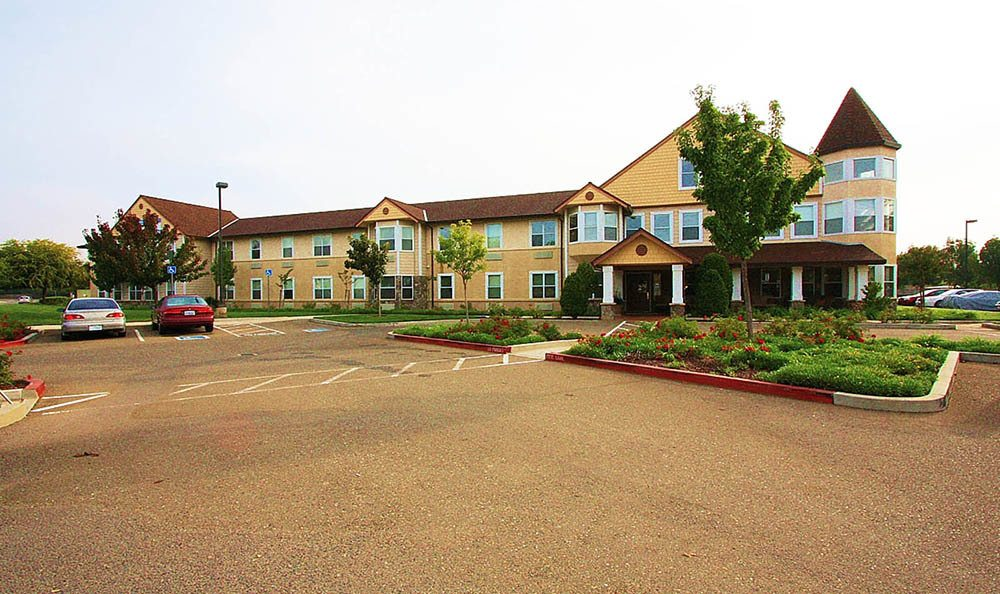 Exterior of The Meadows - Assisted Living Building