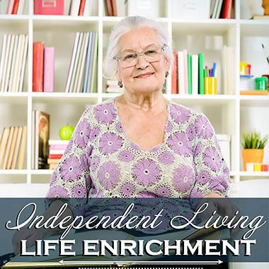 Independent Living Enrichment at Heatherwood Senior Living