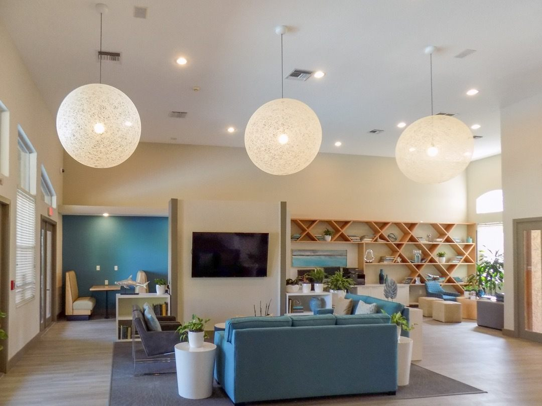 Clubhouse At Apartments For Rent In Pembroke Pines