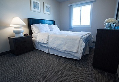 Spacious bedroom of your new apartment home at Maple Terrace in Loveland