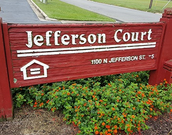 Welcome to Jefferson Court Apartments in Goldsboro, NC.