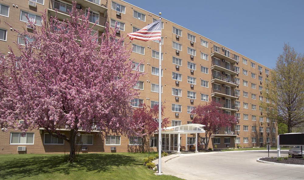 Exterior At Our Senior Apartments In Findlay Oh