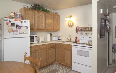 Kitchen At Our Senior Apartments in Findlay, OH