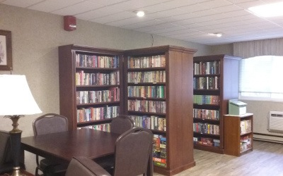 Library At Our Senior Apartments in Findlay, OH