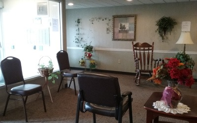 Lounge At Our Senior Apartments in Findlay, OH