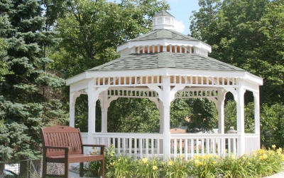 Gazebo At Our Erie Pa Senior Living Community