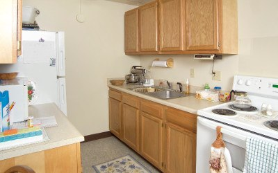 Kitchen At Our Erie Pa Senior Living Community