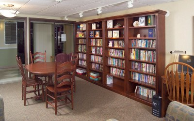 Library At Our Erie Pa Senior Living Community