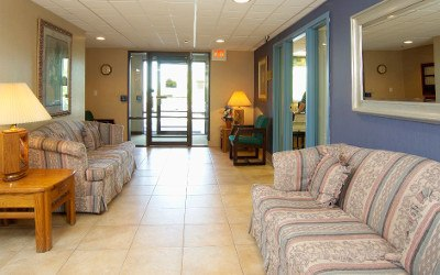 Lobby At Our Erie Pa Senior Living Community