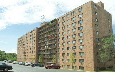 Front Of Our East Cleveland Senior Apartment Community