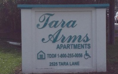 Tara Arms Property Sign